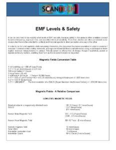 EMF Safety Levels Guide in PDF Format